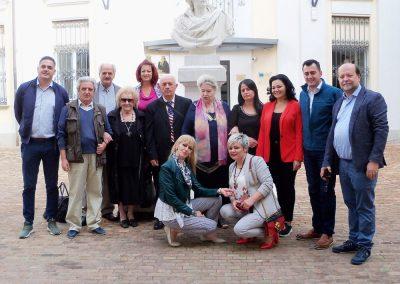 Visita di artisti albanesi alla Fondazione Eugenio Guglielminetti