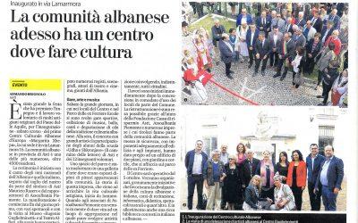 Un gruppo di artisti giunti ad Asti dall'Albania per l'inaugurazione del Centro Culturale Albanese d'Europa, ha visitato il Museo Eugenio Guglielminetti a Palazzo Alfieri